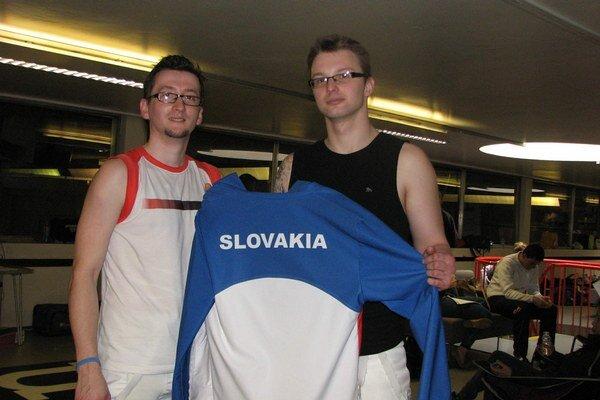 Birminghamská dvojica. Zľava Tomáš Kazík a Ján Gerboc.