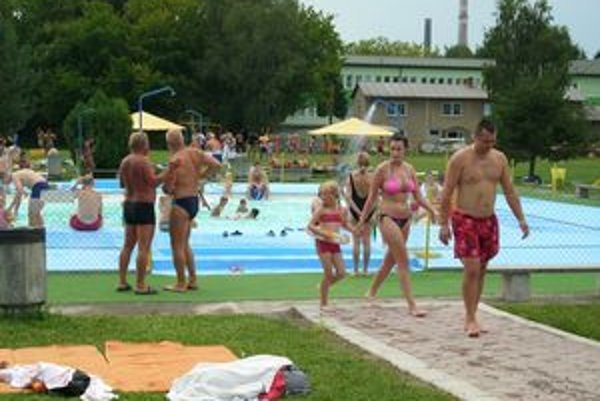 Po rekonštrukcii. Detský bazén vynovili počas letnej sezóny.