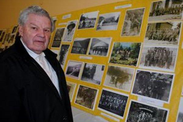 Andrej Škuba. Je autorom knihy Dejiny Kamienky. Od jej dokončenia neprestal zbierať staré fotografie.
