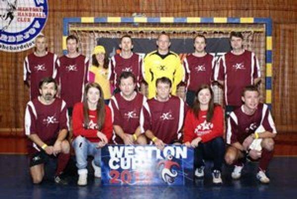 Tím Nexis Fibers Humenné. Westton cup 2012 mali v bronzovom lesku.