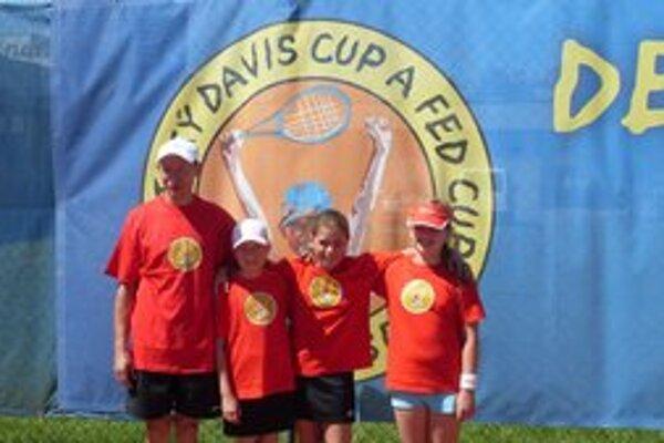 Dievčatá postúpili vo FED Cupe.
