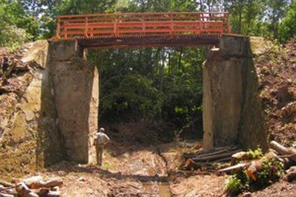Barankov most. Je najväčší vo Vihorlatských vrchoch.