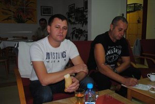 Vladislav Michalko a Miroslav Chovan darovať chodievajú pravidelne.