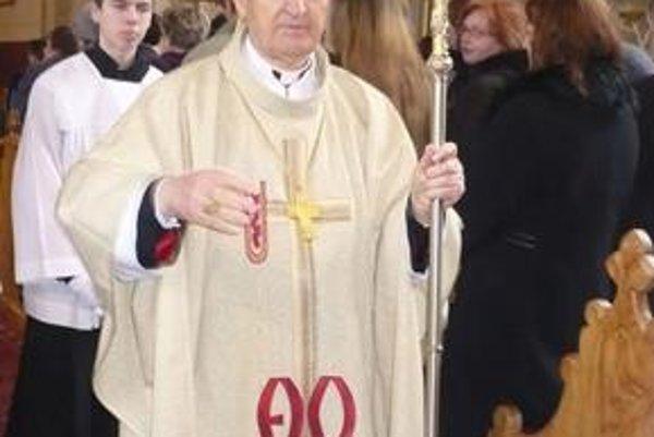 Jeho Eminencia Jozef kardinál Tomko bol vo svojej rodnej obci Udavské v marci tohto roku.