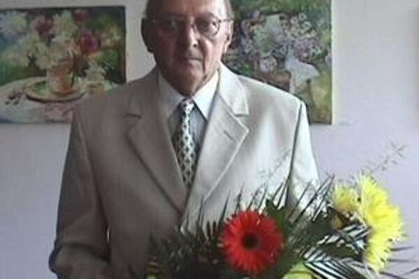 Ocenený. Rudolf Škovranko.