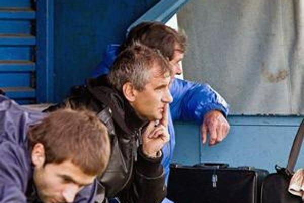 Spokojný tréner. Jozef Valkučák vyslovil na margo svojich zverencov pochvalu.
