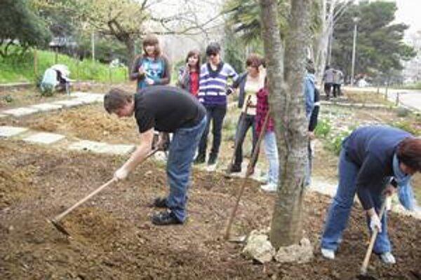 Humenskí školáci a ich učitelia sa zdokonalili nielen v záhradnej architektúre, ale aj v cudzích jazykoch. Okrem toho si počas trvania projektu našli v zahraničí medzi rovesníkmi veľa nových priateľov.