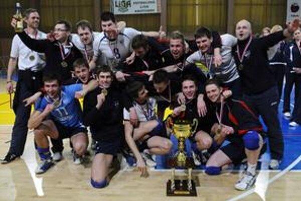 Po druhýkrát VK Chemes získal Slovenský pohár.
