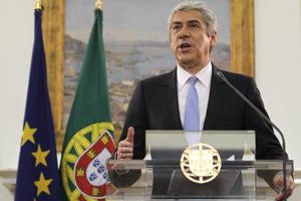Portugalský premiér José Sócrates sa chcel pomoci z únie vyhnúť.