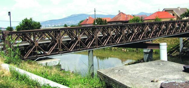 Most vedúci do čistiarne odpadových vôd a kompostárne čaká na rekonštrukciu.
