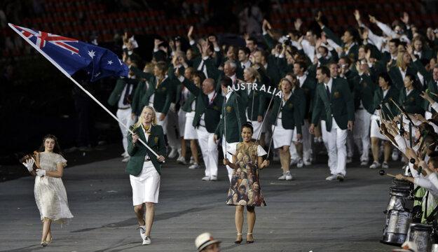 Jacksonová niesla v roku 2012 na olympiáde v Londýne zástavu svojej krajiny.