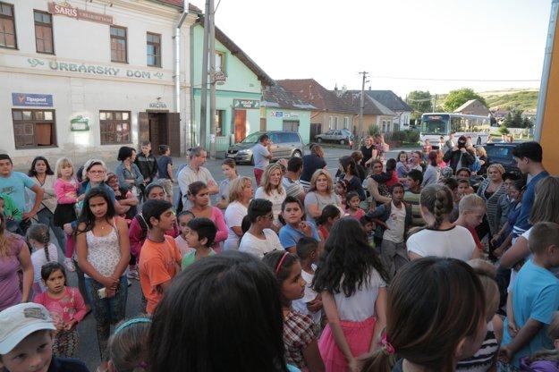 Na Hody kultúr prišlo v Hrabušiciach viac ako dvesto ľudí.