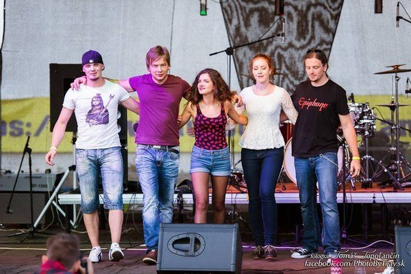 The Fusion. Martin Kuriplach, Gabriel Fabian, Klaudia Hossu, Daniela Hudíkova, Igor Polorecký.