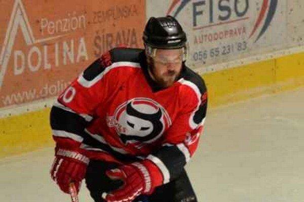 Ivan Boržik. K výhre Devilsu prispel dvoma gólmi.