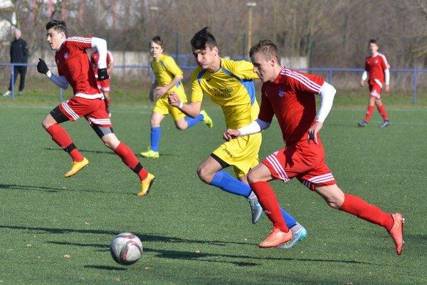 Doma vyšli naprázdno. Michalovské družstvo U17 podľahlo Trenčínu hladko 0:3.