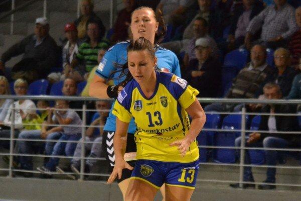 Sofia Nagyová. VPrešove zaznamenala šesť gólov.