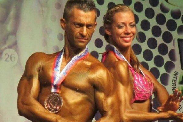 Michalovským kulturistom sa darilo. Slavomír Prada (vľavo) a Janka Bencuľáková v júni dosiahli výborné výsledky.