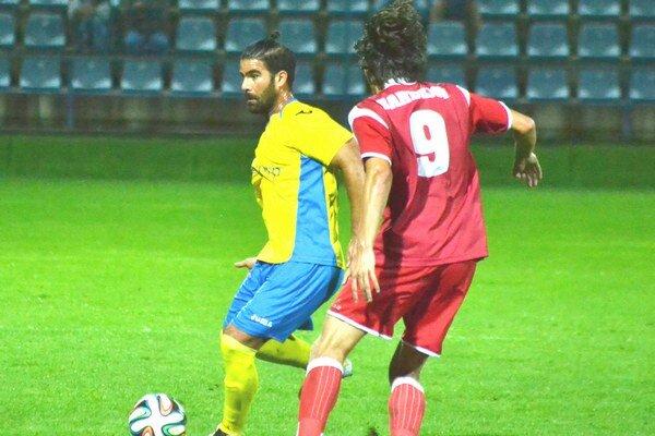 Autor víťazného gólu. Samuel Bayón sa presadil z penalty.