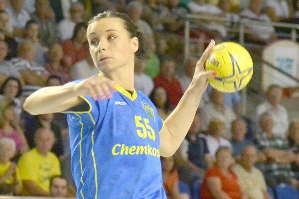 Opäť sa jej strelecky darilo. Tatiana Trehubovová v Rumunsku strelila spolu 19 gólov.