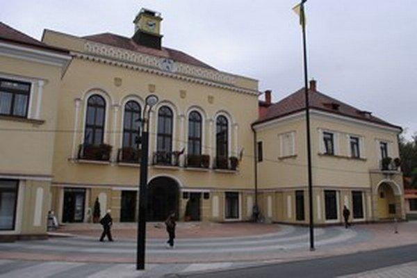 Mestský úrad v Michalovciach.
