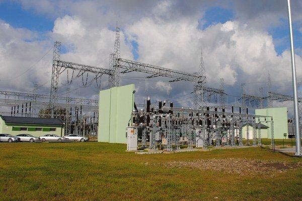 Transformačná stanica. Umožní spoľahlivé zásobovanie priemyselných odberateľov elektrickej energie v regióne.