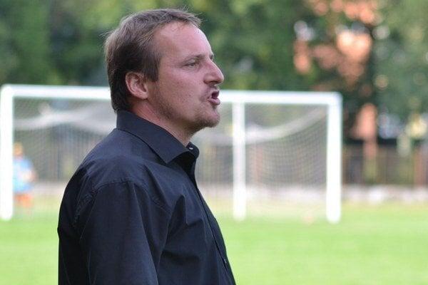 Bartolomej Petro. Tréner Strážskeho je z jesene sklamaný.