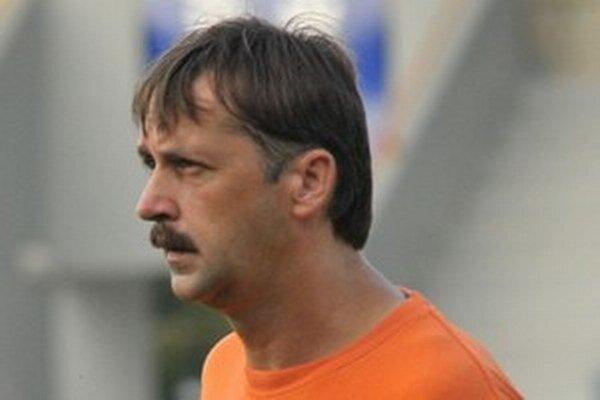 František Šturma. Tréner druholigového MFK Zemplín.