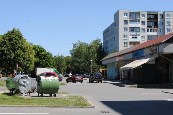 Moskovská ulica. Kameru v týchto dňoch nainštaluje mesto aj na tejto ulici.
