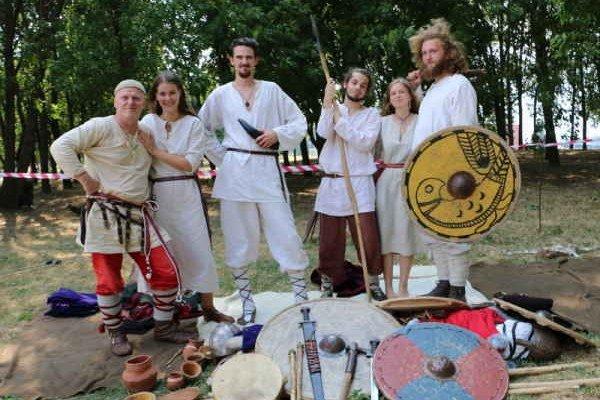 Historický festival. Predstavilo sa viacero historických skupín z celého Slovenska.