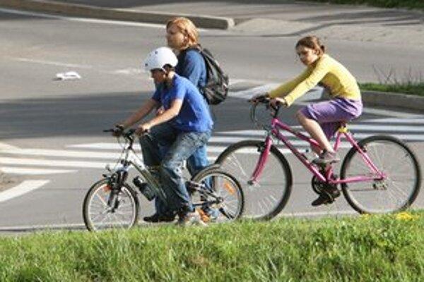 Samospráva má v pláne vytvoriť ďalšiu trasu pre cyklistov.