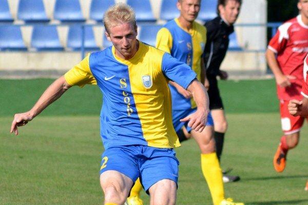 Michal Gallo (vľavo). Defenzívny pilier MFK Zemplín.