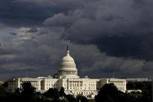 Budova amerického Kongresu.