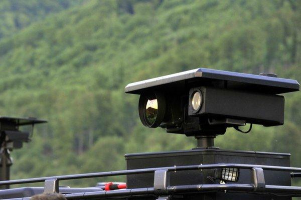 Mobilná termokamera s dosahom až 10 kilometrov.