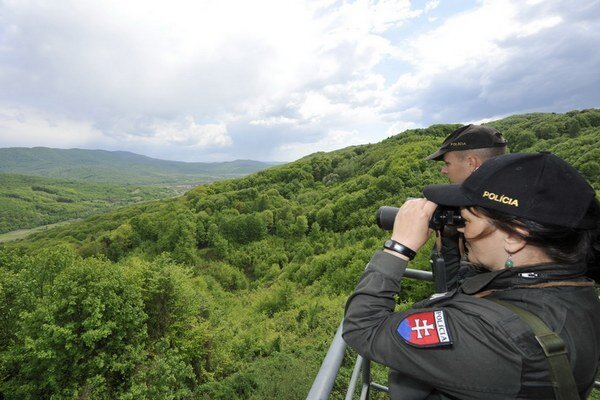 Slovensko-ukrajinská hranica.