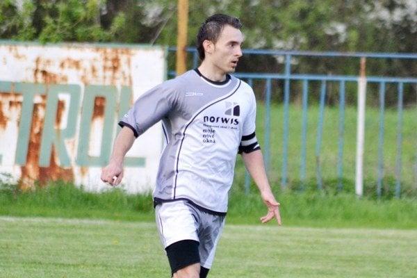 Strelec víťazného gólu. Budkovský Matúš Seman rozhodol o výhre nad Romou.