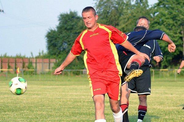 Tomáš Šamudovský. Malčičan vsietil jeden zo šiestich gólov svojho mužstva.