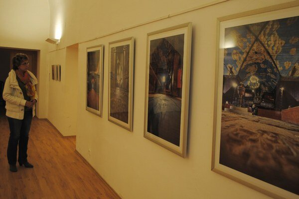Štefan Bubán v múzeu. Diela známeho zemplínskeho výtvarníka si môžete pozrieť v múzeu do konca júla.