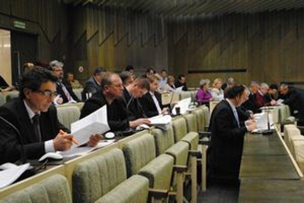 Návrh zmluvy si poslanci vyžiadali ešte pred podpisom úverovej zmluvy. Opatrný pri jej študovaní bol aj Ján Petro (SDKÚ).