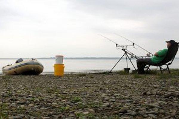 Rybačka na Zemplínskej Šírave.
