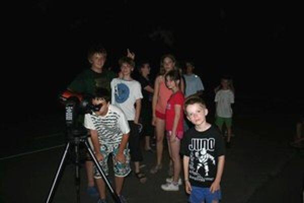 Letný astronomický tábor. Milovníci vesmíru vycestovali do maďarského Sátoraljaújhely.