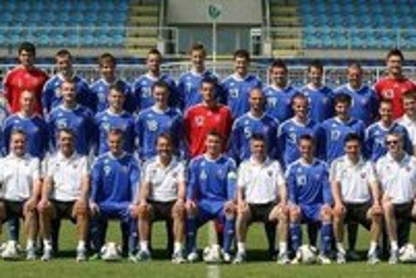 Slovenská reprezentácia do 21 rokov dnes odohrá v Michalovciach súboj s Rumunskom.