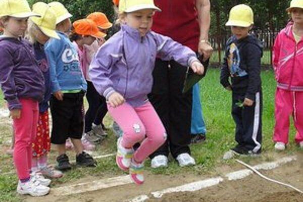 Citius, Altius, Fortius. Deti predviedli skvelé športové výkony.