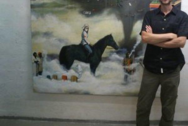 Slavomír Durkaj. Pri svojej tvorbe používa olejomaľbu. Pri interpretovaní jeho obrazov necháva ľuďom voľné myšlienkové pochody.