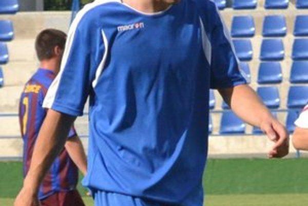 Jeden z trojice strelcov. Samuel Hajduk prispel gólom k výhre nad Vinným.