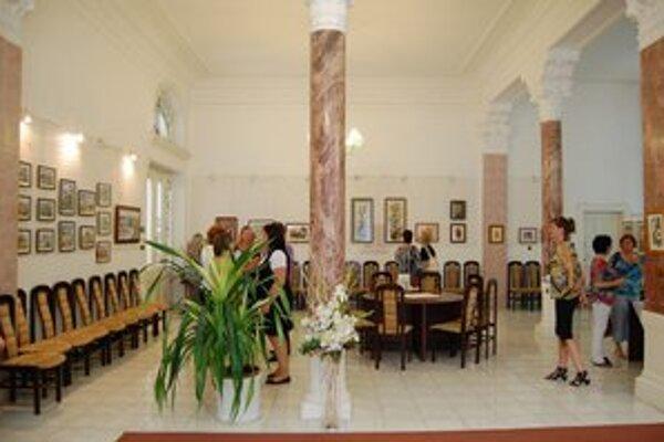 Galéria ZOS. Takto vyzerala galéria pred rekonštrukciou. Už onedlho získa moderný atraktívny vzhľad.