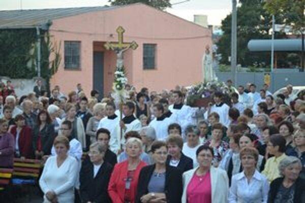 Odpust. V Michalovciach sa zišlo množstvo veriacich.