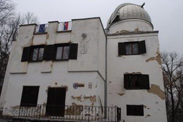 Hvezdáreň v Michalovciach. Národná kultúrna pamiatka nevyhnutne potrebuje rekonštrukciu.