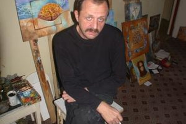 Martin Remiáš. Bol výtvarník s osobitným štýlom a originalitou.