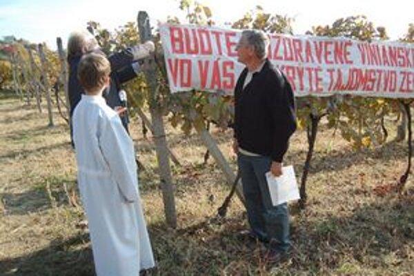 Slávnostné zamykanie viníc. Vinohrady čaká zaslúžený odpočinok.