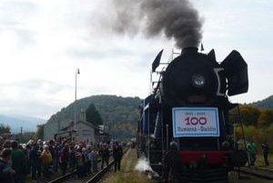 Mimoriadny vlak do Stakčína ťahala parná lokomotíva
